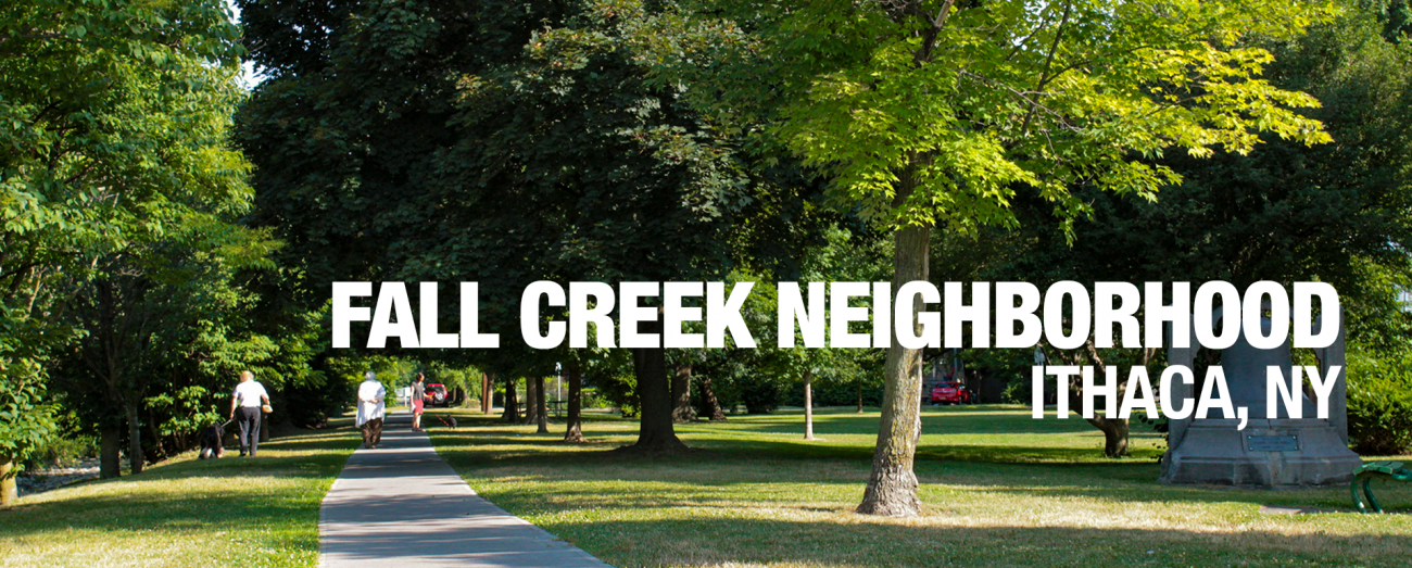 Fall Creek Neighborhood Apartments Ithaca NY Banner Image