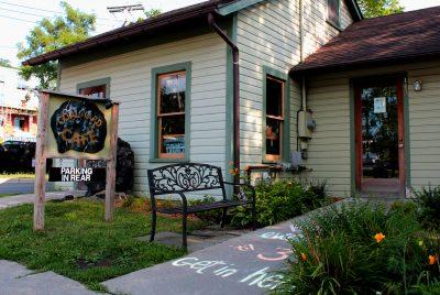 Coal Yard Cafe near Belle Sherman Apartments