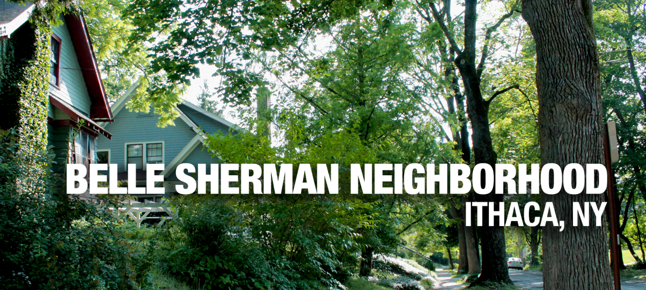 Ithaca Belle Sherman Neighborhood Banner Image