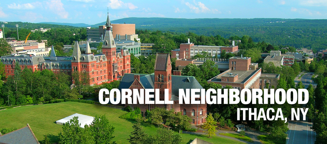 Cornell Apartments in Ithaca NY banner image